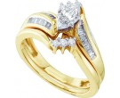 Ladies Two Piece Set 10K Yellow Gold 0.50 cts. GD-15319