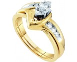Ladies Two Piece Set 10K Yellow Gold 0.24 cts. GD-16990