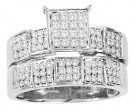 Ladies Two Piece Set 10K White Gold 0.50 cts. CL-25891