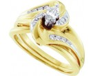 Ladies Two Piece Set 10K Yellow Gold 0.33 cts. GD-26512