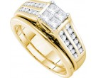 Ladies Two Piece Set 14K White Gold 1.00 ct. GD-45468