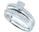 Ladies Two Piece Set 14K White Gold 0.50 cts. GD-46671