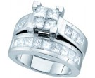 Ladies Two Piece Set 14K White Gold 0.50 cts. GD-21910