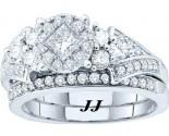 Ladies Two Piece Set 14K White Gold 1.00 ct. GD-52569
