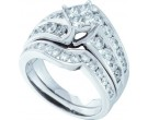 Ladies Two Piece Set 14K White Gold 2.00 ct. GD-52994