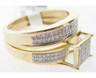 Ladies Two Piece Set 10K Yellow Gold 0.31 cts. GD-63906