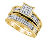 Ladies Two Piece Set 10K Yellow Gold 0.40 cts. GD-65651