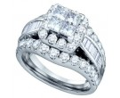 Ladies Two Piece Set 14K White Gold 1.00 ct. GD-67239