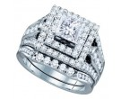 Ladies Two Piece Set 14K White Gold 2.42 cts. GD-67264