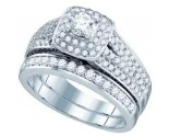 Ladies Two Piece Set 14K White Gold 1.74 cts. GD-74992