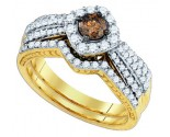 Ladies Two Piece Set 14K Yellow Gold 1.17 cts. GD-80394