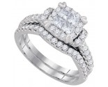 Ladies Two Piece Set 14K White Gold 1.25 cts. GD-93657