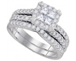 Ladies Two Piece Set 14K White Gold 1.25 cts. GD-93665