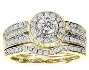 Ladies Two Piece Set 14K Yellow Gold 1.25 cts. GS-20635