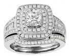 Ladies Two Piece Set 14K White Gold 1.33 cts. GS-21668