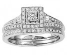 Ladies Two Piece Set 14K White Gold 0.50 cts. GS-21924