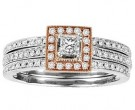Ladies Two Piece Set 14K Rose Gold 0.65 cts. GS-21937R