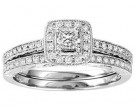 Ladies Two Piece Set 14K White Gold 0.50 cts. GS-21944