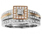 Ladies Two Piece Set 14K Rose Gold 0.50 cts. GS-21950R