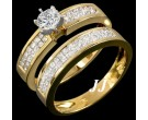 Ladies Two Piece Set 14K Yellow Gold 2.00 ct. 6R616BS