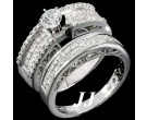 Ladies Two Piece Set 14K White Gold 2.68 cts. 6R620BS
