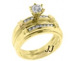 Ladies Two Piece Set 14K Yellow Gold 0.42 cts. LTSD-207