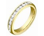 Men's Diamond Band 14K Yellow Gold 0.50 cts. S53-1