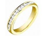 Ladies Diamond Band 14K Yellow Gold 0.50 cts. S53-2