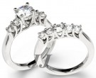 Ladies Bridal Two Piece Set 14K Gold 1.95 - 2.70 tcts. SK-462