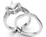 Ladies Bridal Two Piece Set 14K Gold 1.70 - 2.45 tcts. SK-545