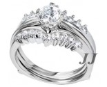 925 Sterling Silver Bridal 2-Piece Set SL-9010
