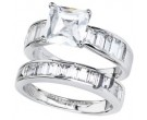 925 Sterling Silver Bridal 2-Piece Set SL-9019