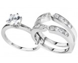 925 Sterling Silver Bridal 2-Piece Set SL-9053