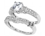 925 Sterling Silver Bridal 2-Piece Set SL-9073
