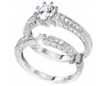 925 Sterling Silver Bridal 2-Piece Set SL-9076