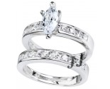 925 Sterling Silver Bridal 2-Piece Set SL-9097