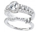 925 Sterling Silver Bridal 2-Piece Set SL-9099