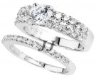 925 Sterling Silver Bridal 2-Piece Set SL-9100