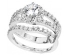 925 Sterling Silver Bridal 2-Piece Set SL-9101