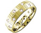 Diamond Wedding Band 14K Yellow Gold 0.51 cts DYWB-2152