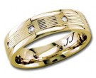 Diamond Wedding Band 14K Yellow Gold 0.16 cts DYWB-2255