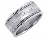 Diamond Wedding Band 14K White Gold 0.32 cts. DWB-2551