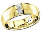Diamond Wedding Band 14K Yellow Gold 0.15 cts DYWB-2853