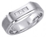 Diamond Wedding Band 14K White Gold 0.34 cts. DWB-2859