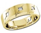 Diamond Wedding Band 14K Yellow Gold 0.21 cts DYWB-2961