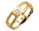 Diamond Wedding Band 14K Yellow Gold 0.40 cts. DYWB-3010