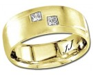 Diamond Wedding Band 14K Yellow Gold 0.24 cts DYWB-3058