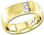 Diamond Wedding Band 14K Yellow Gold 0.20 cts DYWB-3060
