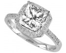 Diamond Engagement Ring 14K Gold 0.34 cts. 10R1500