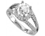Diamond Engagement Ring 14K Gold 0.83 cts. 11R1561
